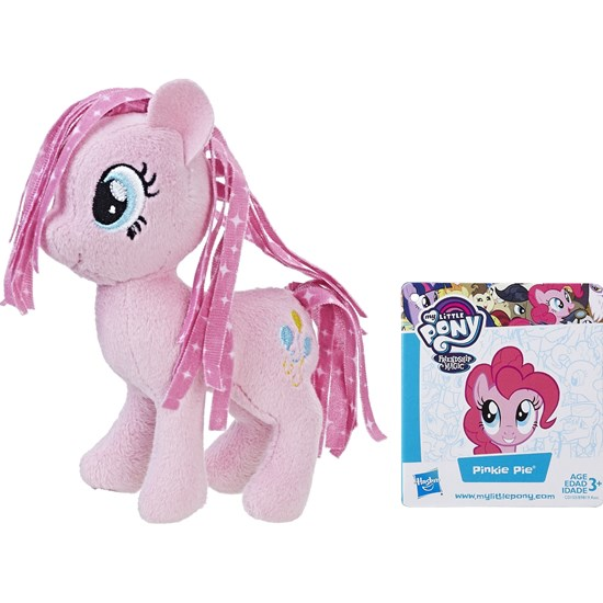 My Little Pony Basic Plush, 13 cm, Pinkie Pie