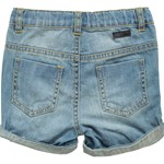 Mini Mize Farkkushortsit, Vauvan, Storm, Medium blue denim