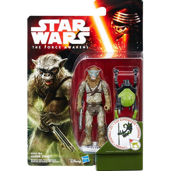 Star Wars E7 Single Figures, Jungle/Space, 9 cm, Hassk Thug