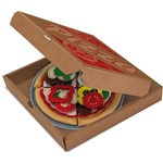 Melissa & Doug Leikkiruokaa, Felt Food, Pizza Set