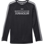 Under Armour Pusero, Infrared, Black