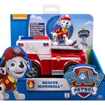Paw Patrol Basic Vehicle With Pup, Rescue Marshall
