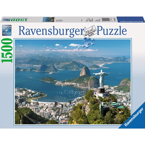 Ravensburger Palapeli, View of Rio, 1500 palaa