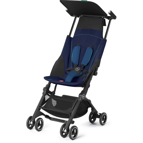 Goodbaby GB Pockit+, Matkarattaat, Sea Port Blue
