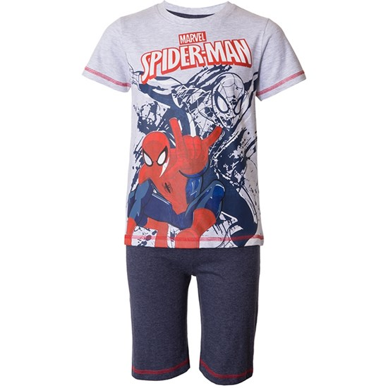 Marvel Spider-Man Disney Spiderman, T-paita ja shortsit, Grey Melange