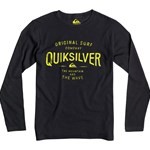 Quiksilver Pusero, Claim it, Anthracite