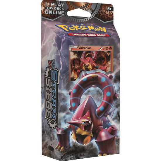 Pokemon Pokémon, Poke XY11 Steam Siege Theme, Volcanion