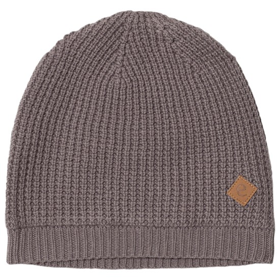 ebbe Kids Simson Knitted Beanie Grey Waffle