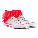 Converse Silver and Pink Kids Chuck Taylor All Star Block Party