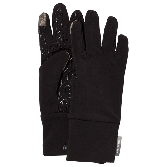 Reima Gloves (Knitted), Zinkenite Black