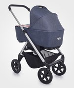 Easywalker Mini™ Carrycot Union Jack Denim