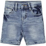 Nova Star Denim Slim Shortsit, Sininen