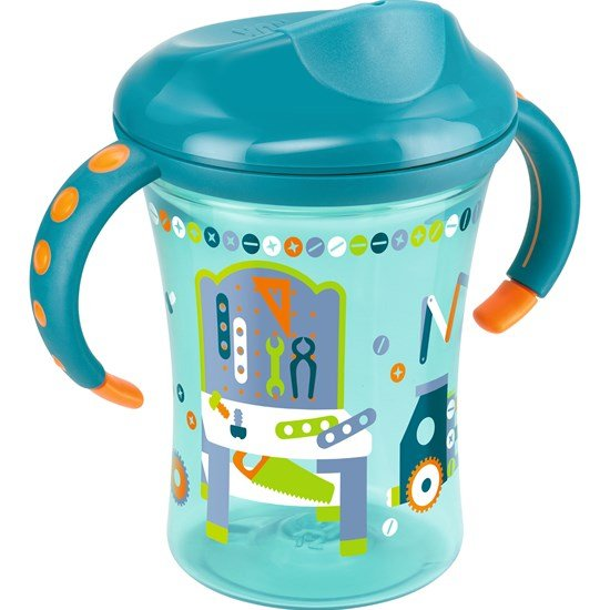 NUK Muki, Trainer Cup, 250 ml, Turkoosi