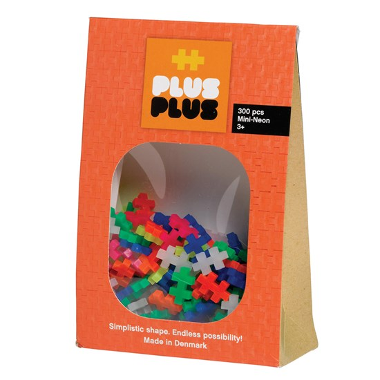 Plus-Plus Mini Neon 300-pack