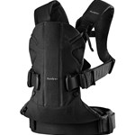 BabyBjörn Baby Carrier One Black Cotton Mix