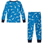 Hatley Loop-The-Looping Hammerheads Pyjamasetti Sininen