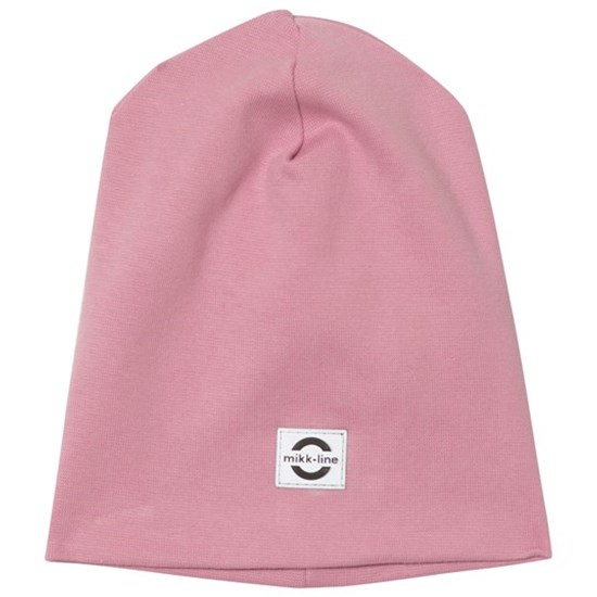 Mikk-Line Cotton hat Solid Polignac Rose