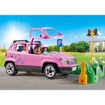 Playmobil 9404 Family Car with Parking Space