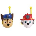Paw Patrol 3D Walkie Talkie Marshall and Chase
