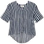 Emma och Malena Maternity Brita Blouse Stripe Brush