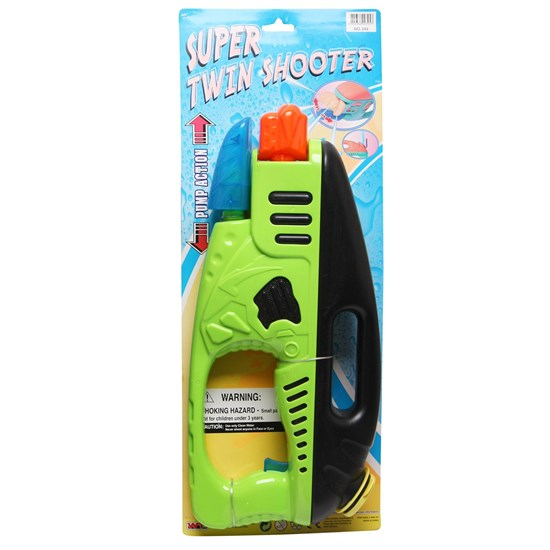 Best Time Toys Pump Action Water Gun Green