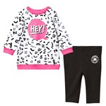 Converse Multi French Terry Sweater and Pants Set
