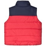 Joules Red Matchday Lined Padded Gilet