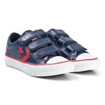Converse Navy Star Player 3V OX Junior Trainers