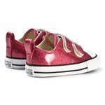 Converse Burgundy Chuck Taylor All Star 2V OX Infants Trainers