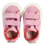 Converse Pink Hello Kitty One Star Velcro Trainers