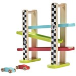 Wood Little Racing Track 3 Kerrosta