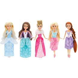 Sparkle Girlz 5-Pack Winter Princess Collection 592b1dc5a6