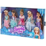 Sparkle Girlz 5-Pack Winter Princess Collection