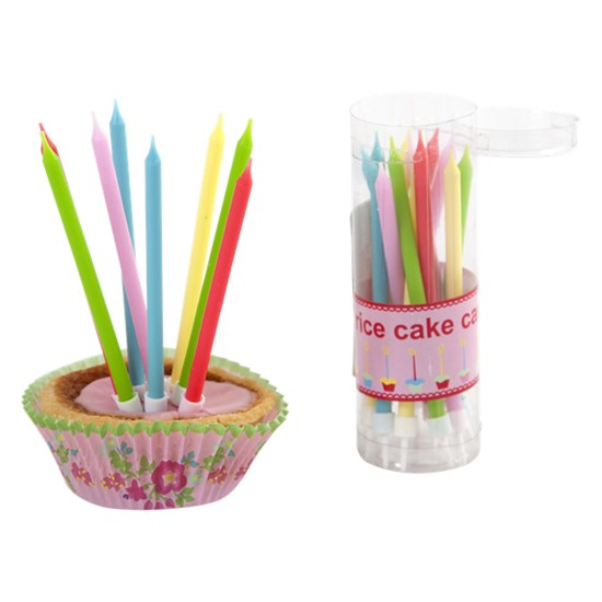 Rice Cake Candles Pack of 20 pcs
