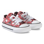 Converse Hello Kitty Print Chuck Taylor Infants Trainers Punainen