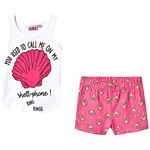 Max Collection Pyjamas Shell White Pink