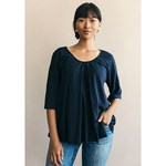Boob Breeze Blouse Midnight Blue