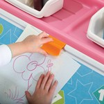 Step2 2-In-1 Toy Box & Art Lid Pink