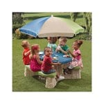 Step2 Naturally Playful Picnic Table with Umbrella II