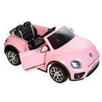 Elite Toys VW Beetle Dune Pink Electric Car