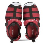Geox Black and Red Wader Water Friendly Closed Toe Sandal