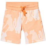 Filemon Kid Shorts Cheetah Silouette Peach Cobbler