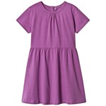 A Happy Brand SHORT SLEEVE DRESS PURPLE