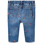 Gap Flower Emroided Jeggings Medium Wash