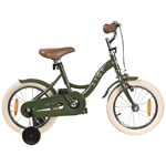 STOY Bicycle 14 Vintage Army Green