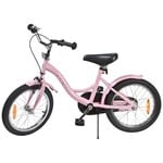 STOY Bicycle 16 Classic Frame Light Pink
