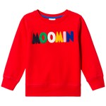 Muumit Moomin Logo Sweatshirt Red