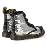 Dr. Martens Silver 1460 Sequin Boots