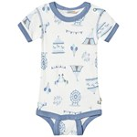 Joha Body w/short sleeves Merry go Blue