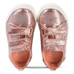 Toms Rose Gold Lenny Velcro Trainerss